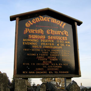 Glendermott Parish Church Signage